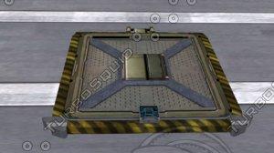 sci fi hatchway blend