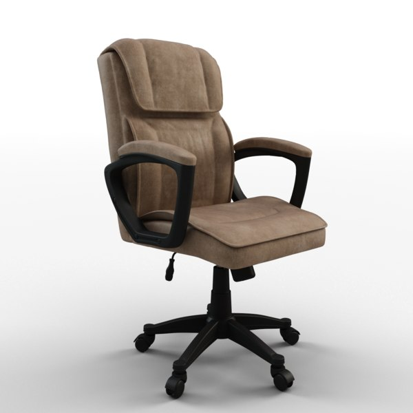 3d model cyrus executive chair