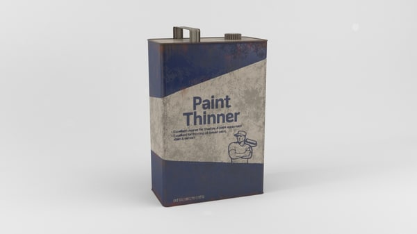 paint thinner 3d max