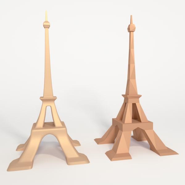 eiffel tower 3ds