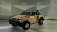 jeep 3d obj