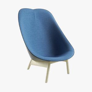 uchiwa lounge chair ma