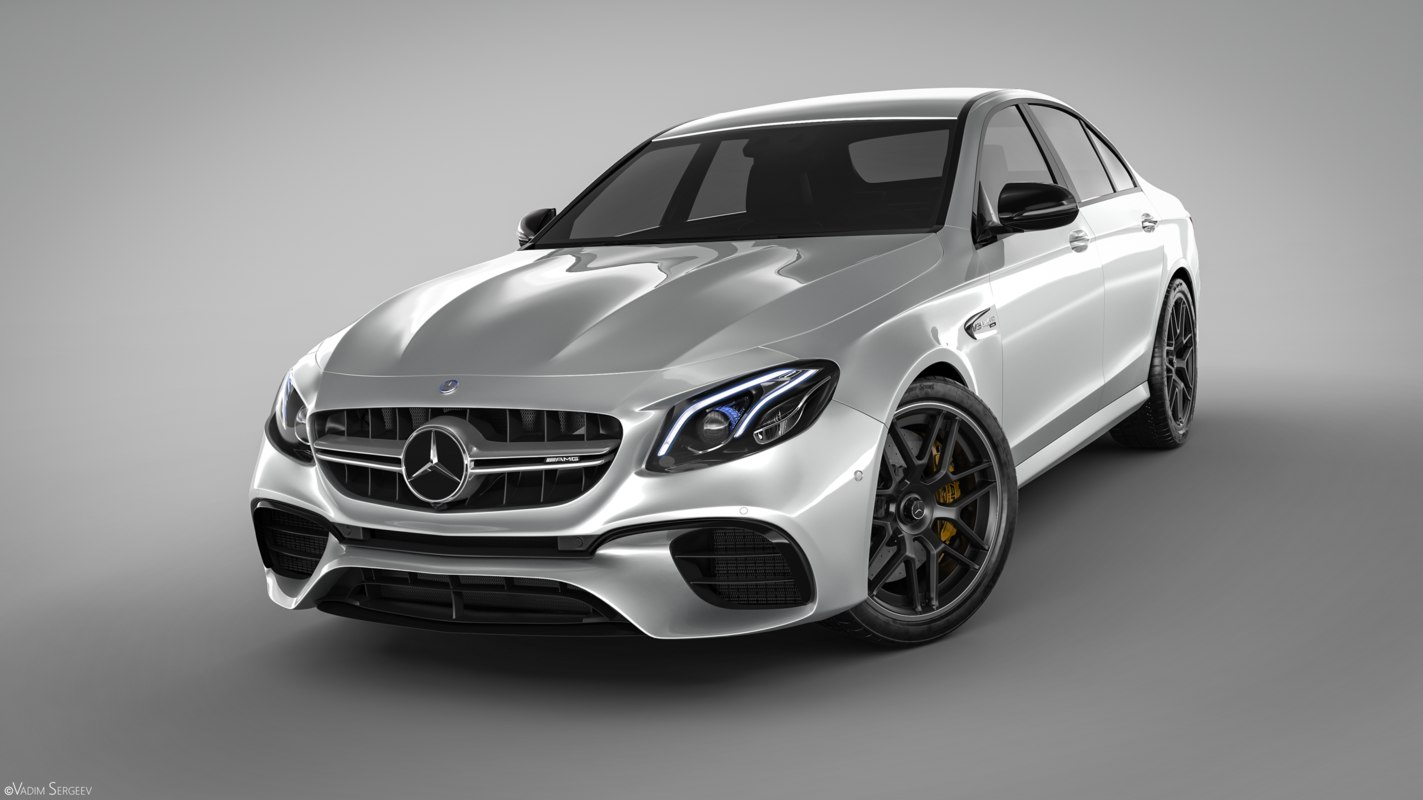 3d mercedes benz e63 amg 2018 for Mercedes benz e 63 amg