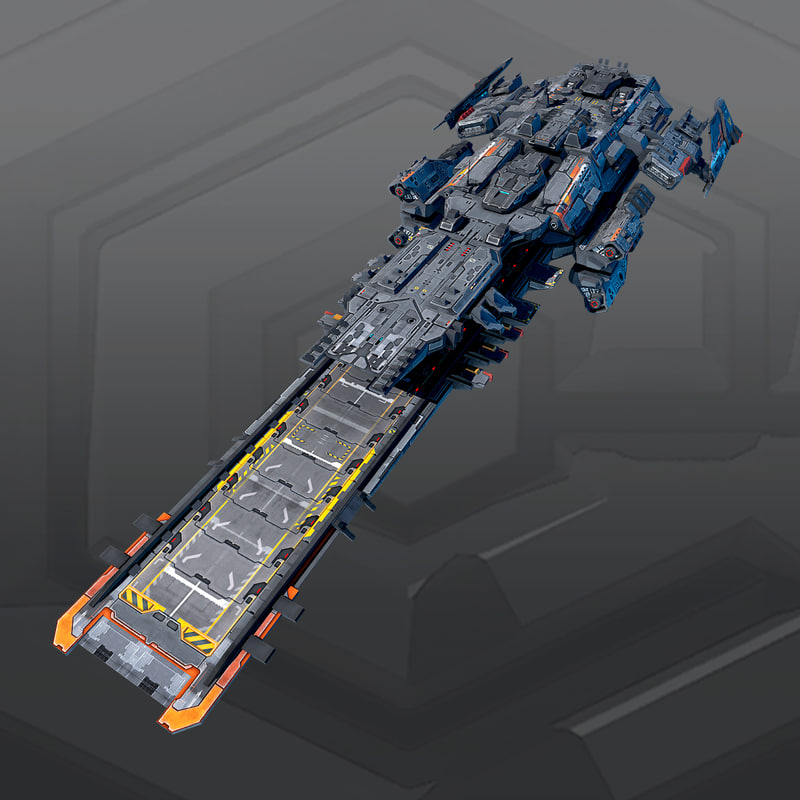 3d space spacecraft