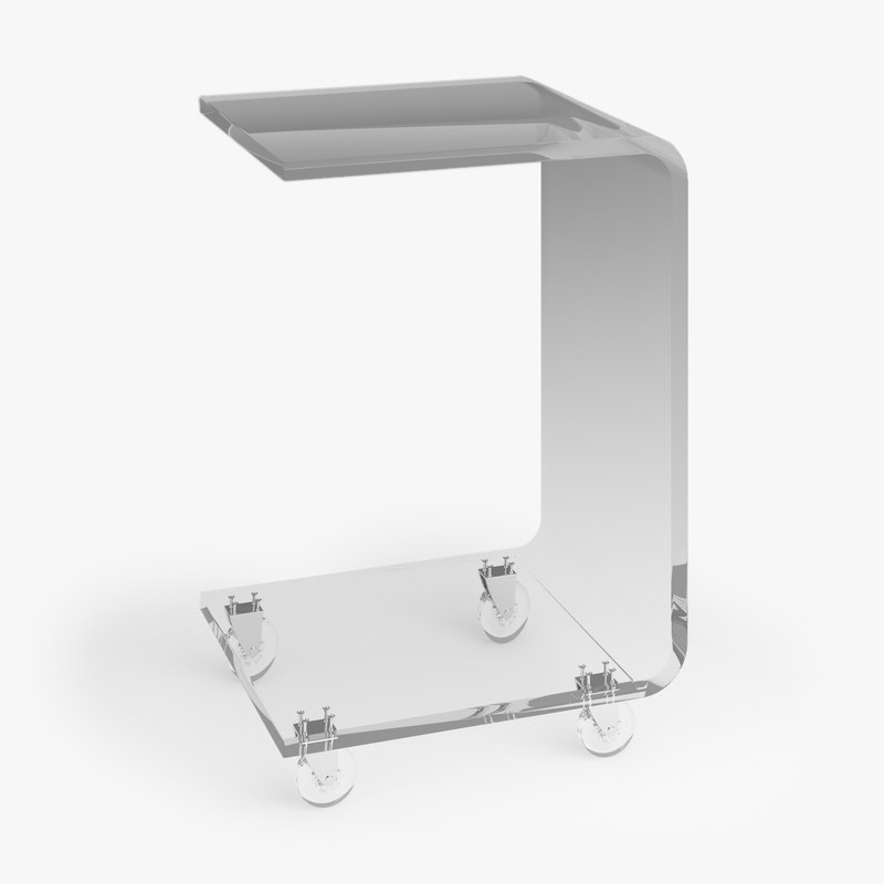 3d peekaboo c table model
