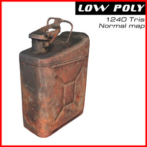 3d old jerrycan