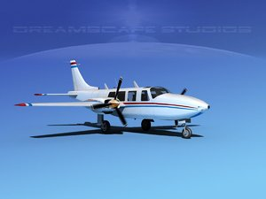 3d propellers piper 600 aerostar