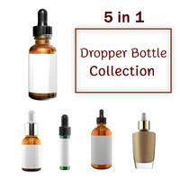 3d fbx dropper bottles