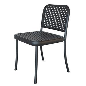 3d model depadova silver chair