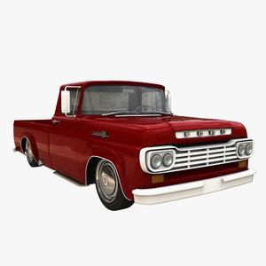3d 1959 f150 model