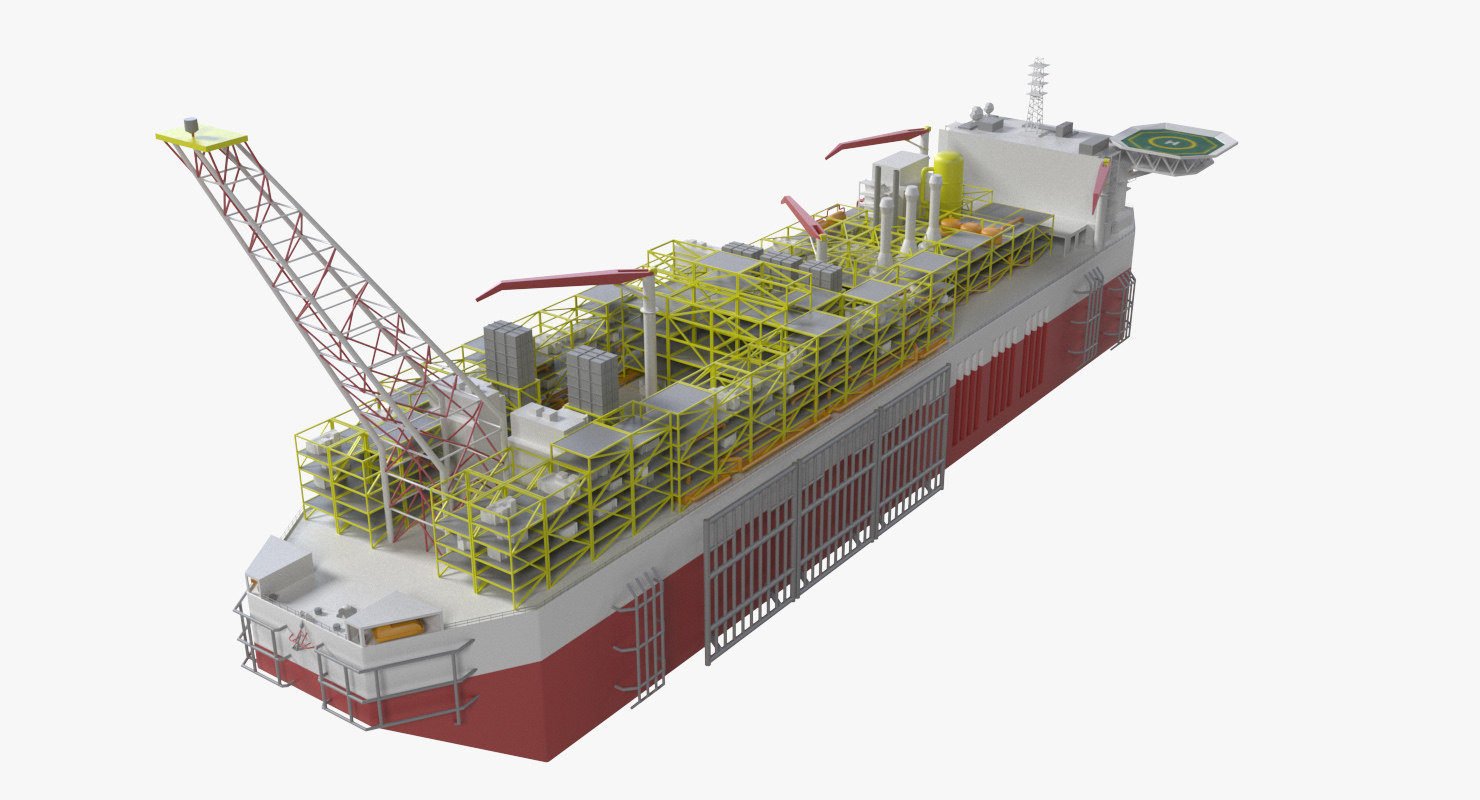 production fpso 3d max
