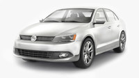 volkswagen jetta materials car 3ds