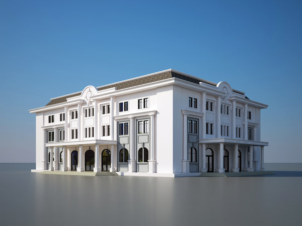 library house 3d model