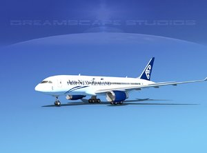 3ds new boeing 787-8 787