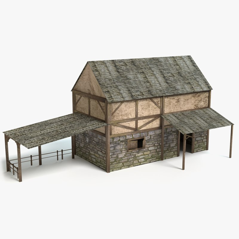 medieval stable 3ds