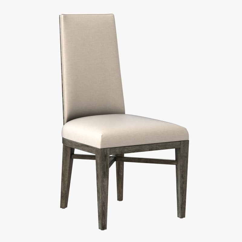 3d model chair lily jack