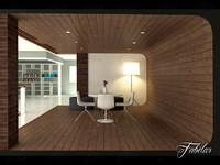 reading room 3d model