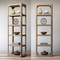 RH Martens narrow shelving