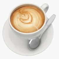 cappuccino 3 3d model