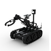 bomb disposal robot 3d model