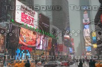 NEW YORK CITY TIMES SQUARE HDR