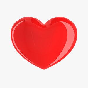 heart photo-realistic 3d max