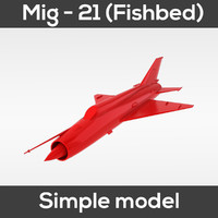 3d fishbed simple - model