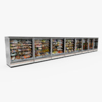food display stand 3d model