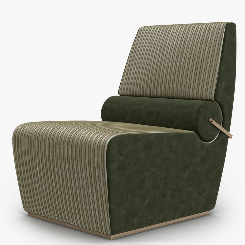 3d model of pelcorte - lounge chair