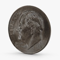 US Dime Aged