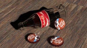 3d bottle caps fallout