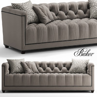 seat paris loveseat 3d model