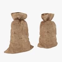 3d model sack set