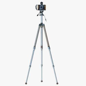 3d alpa vintage camera model