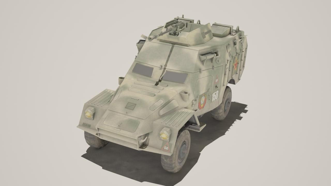 3d model btr btr40