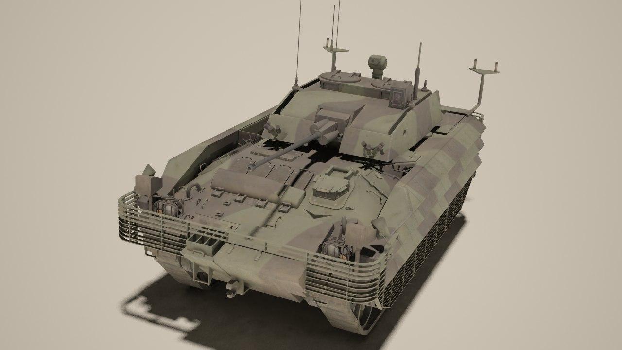 fv510 warrior 3d max