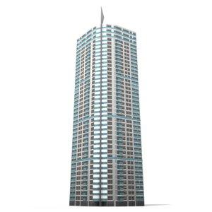 torre lugano 3d max