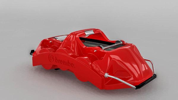 brembo brake caliper 3d model