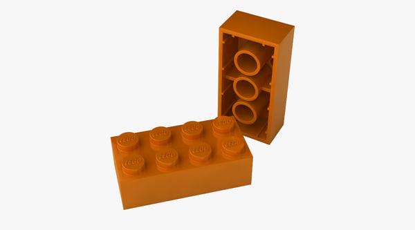 3d lego bricks