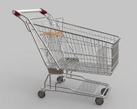 supermarket trolley 3ds