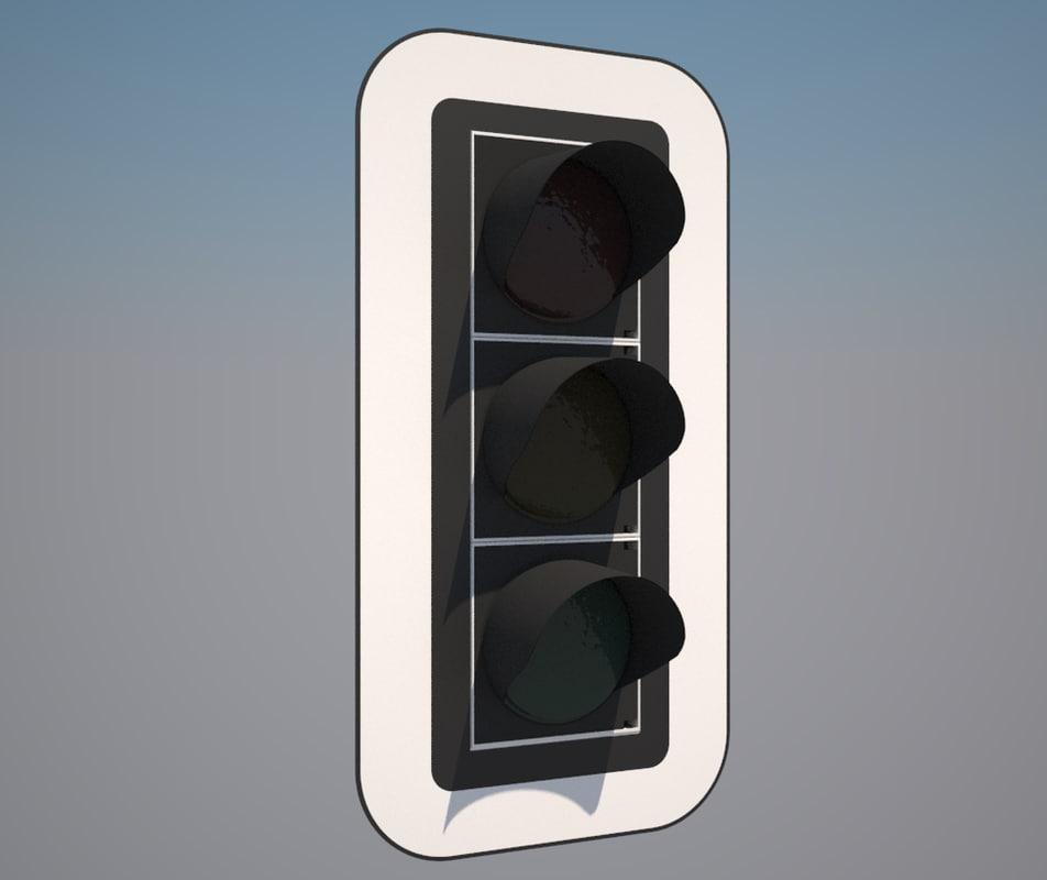 3d model light siemens 300