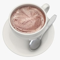 3d hot chocolate milk