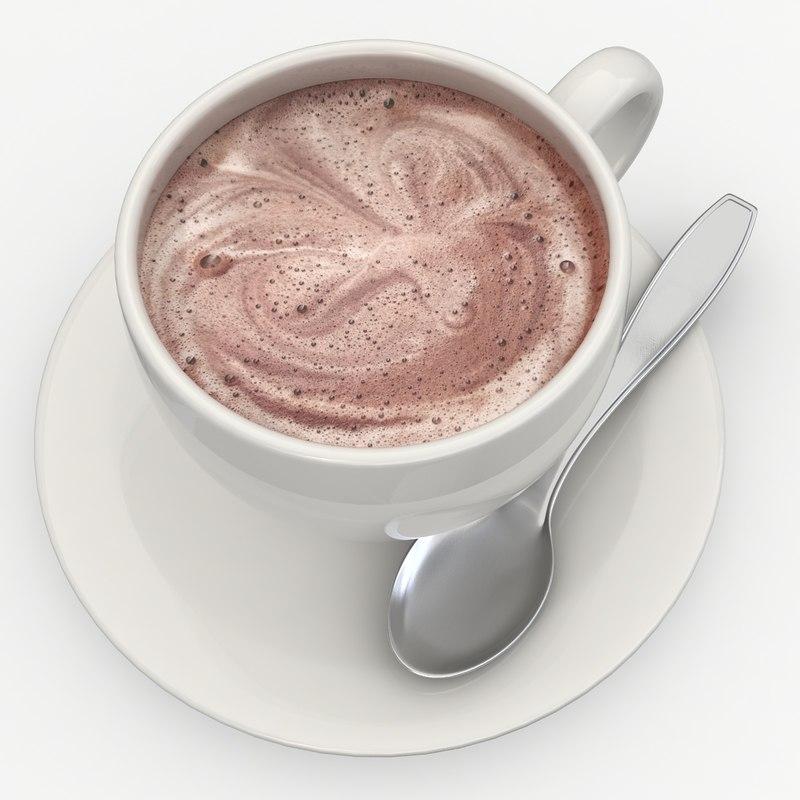 hot chocolate milk 3d 3ds