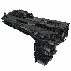 - spacecraft 6 3d model