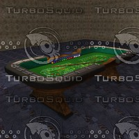 Casino Craps Table & Accessories HD