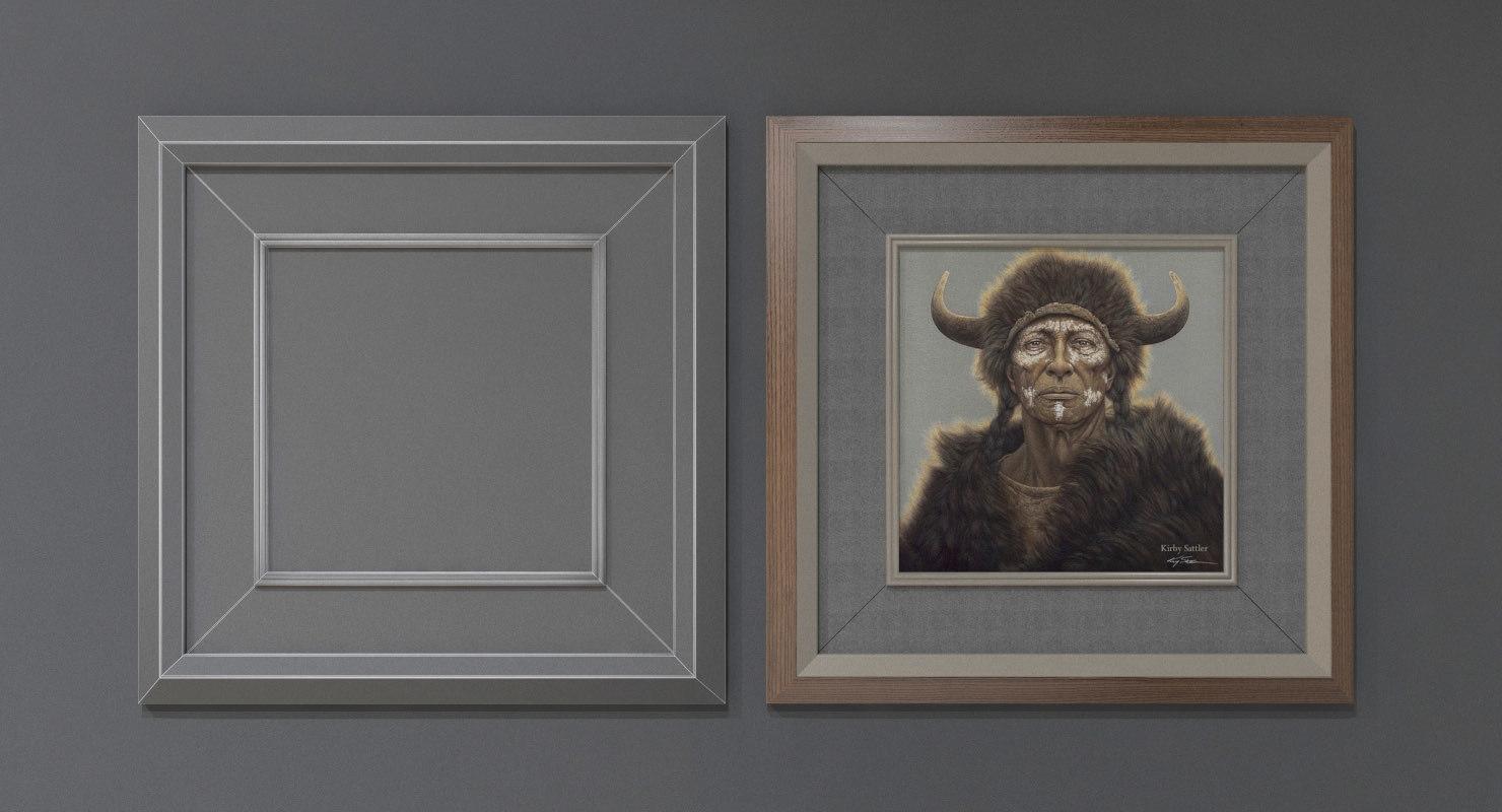 pictures frames 3d model