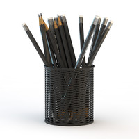 pencils cup 3ds