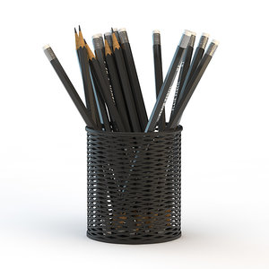 pencils cup 3ds