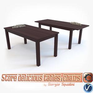 3d table halmar