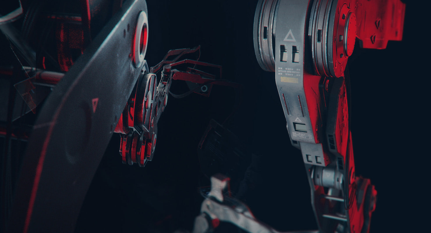 3d scifi display